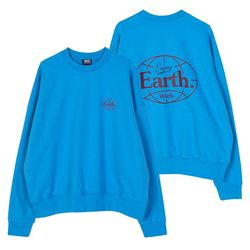 AF219PST218 WICK EARTH SWEATSHIRT-BLUE(NEWW0BWKCH)