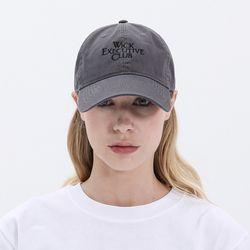 BG284CAP539 EXECUTIVE CLUB WASHING CAP-CHARCOAL(NEW22S67Y4)
