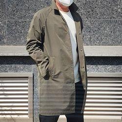 세미오버핏 맥코트 카키 남자 가을 코트