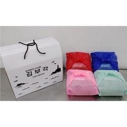 김부자푸드 수제 찹쌀 김부각 선물세트 116g x 4개입