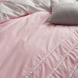 LEO 마이크로화이바 진드기방지 호텔이불커버S 핑크