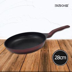 키친아트 금상첨화 인덕션 코팅후라이팬 28cm 인덕션후라이팬