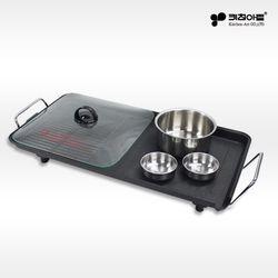 키친아트 라팔 플러스 투웨이 전기그릴팬 전기팬 고기불판