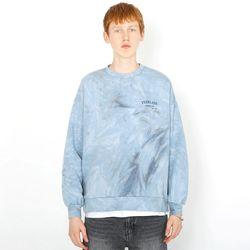 클래식 로고 타이다이 스웨트셔츠-라이트 블루