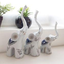 코끼리 3p세트 미니어처