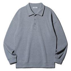 앨빈클로 무지 루즈핏 카라넥 맨투맨 셔츠 MAR908 (7 COLOR)