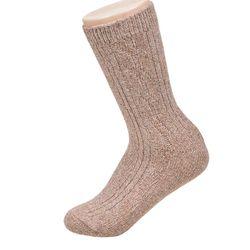 포근한 무지 단색 니트여자양말5족 양발 발목 40대
