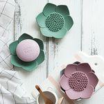 파스텔 실리콘 연꽃 비누받침 2p set (4color)