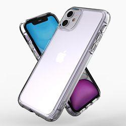 제로스킨 아이폰 11용 판테온 투명 하이브리드 범퍼 케이스