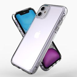제로스킨 아이폰 11용 범퍼 판테온 투명 케이스