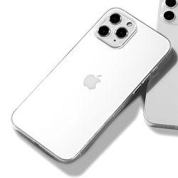 제로스킨 아이폰 12 프로 MAX용 투명 시그니처6 하드 케이스