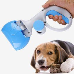 강아지 똥삽 반려동물 배변집게 봉투세트 봉투1롤포함
