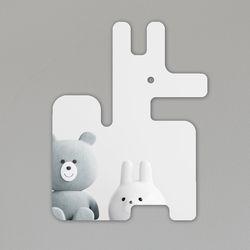 블록여우 아크릴 안전거울 유아 어린이 붙이는 거울