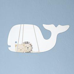 고래 깨지지 않는 아크릴 안전거울 유아 어린이 거울