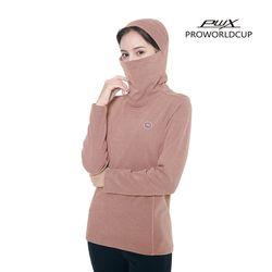 Q321-3654-1LP 여성 후드 마스크 티셔츠 PWX(NEWS14UNDE)