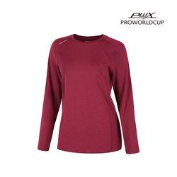 Q321-3651-1RD 여성 스포츠 라운드 티셔츠 PWX(NEWPHZFR6E)