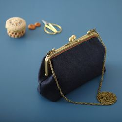 18cm 청지파우치 가방 만들기 프레임가방 앤틱가방