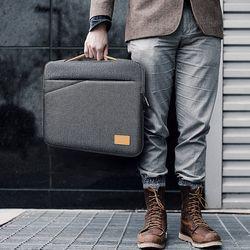브라보 노트북 슬림 아이패드 파우치 가방