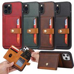 아이폰 11 pro max 접이식 카드 지갑 수납 가죽케이스
