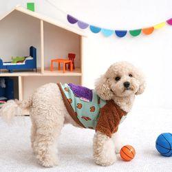 패리스독 강아지옷 토끼포켓 후리스