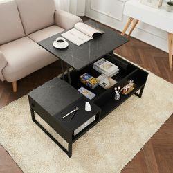 예투가구 메티스 UV살균 기능성 수납 화장대 리프트 테이블