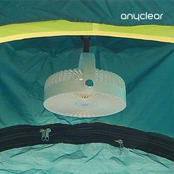 삼각대 문어발 선풍기 캠핑용 4000mAh 천장형 타프팬 PDB-WMT10