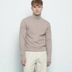 M613 cash polar knit mocha