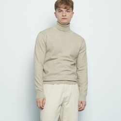 M613 cash polar knit beige