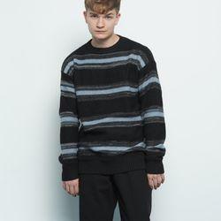 M156 abon logo wool knit black