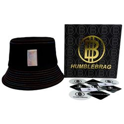 HB-RAINBOW BUCKET HAT [BLACK](ITEM93LDY24)