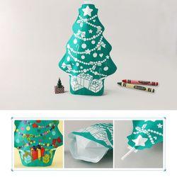 컬러룬크리스마스트리만들기(10개)종이풍선색칠하기