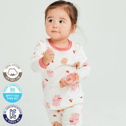 [따솜키즈] 바니베어 30수 후라이스 유아동 주니어 실내복