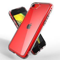 제로스킨 아이폰 SE2 7 8용 하이브리드 판테온 범퍼 투명 케이스