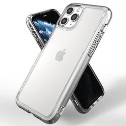 ZEROSKIN 아이폰 11 프로용 판테온 투명 하이브리드 범퍼 케이스