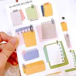 미니 메모 포인트 ver.3 다꾸 인스 인쇄소스티커