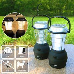 캠핑 낚시 다용도 태양광 충전가능 LED 랜턴 라이트