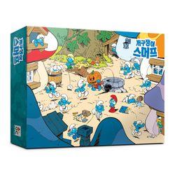 (알록퍼즐)빅100피스 개구쟁이 스머프 직소퍼즐 AL5204