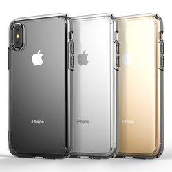 제로스킨 아이폰 X  아이폰 XS용 하이브리드 범퍼 판테온 투명