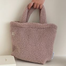 mignon tote bag ( pastel pink )