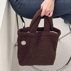 mignon tote bag ( brown )