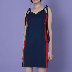 Navy Side Line Track Dress [이주영](NEWUDTAW0L)