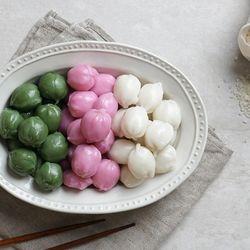 굳지않는 고소미 꿀떡(삼색) 1kg