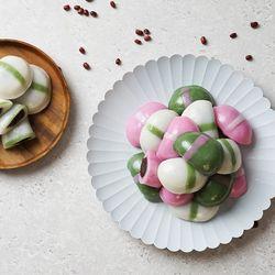 굳지않는 떡 반달떡 백미 쑥 고구마 1kg