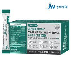 JW중외제약 포스트 프리프로바이오틱스 L람노서스 GG 유산균 1개