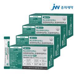 JW중외제약 포스트 프리프로바이오틱스 L람노서스 GG 유산균 4개