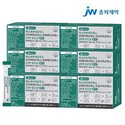 JW중외제약 포스트 프리프로바이오틱스 L람노서스 GG 유산균 6개