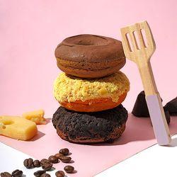 No밀가루(글루텐프리)No설탕No버터 프로틴 브라우니 도넛