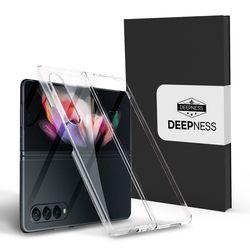 디피니스 갤럭시Z폴드3용 유니온 투명 핸드폰 케이스