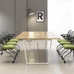 회의테이블 사무실탁자 직사각테이블 1200 1500 1800