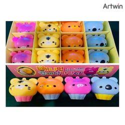 애니멀 컵케익 말랑이 BOX(12개입)